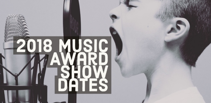 Featured Image for List of 2018 Music Award Show