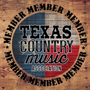 texas country music association member logo