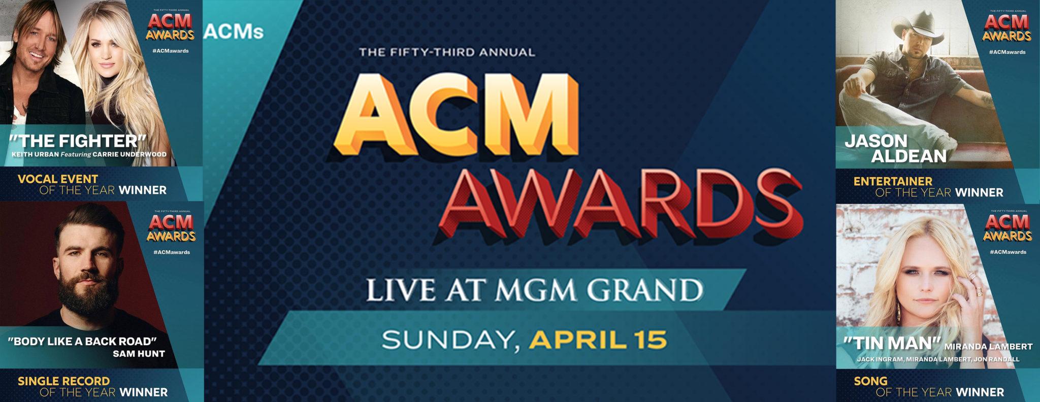 2018 ACM Award Show Winners